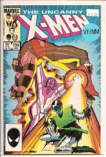 X-Men # 194, 9.0 VF/NM