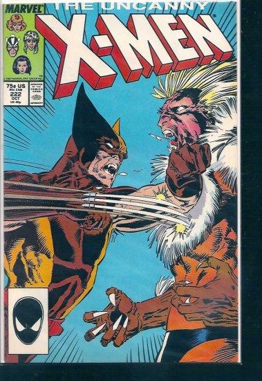 X-MEN  # 222, 6.5 FN +