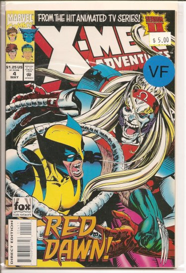 X-Men Adventures II # 4, 8.0 VF