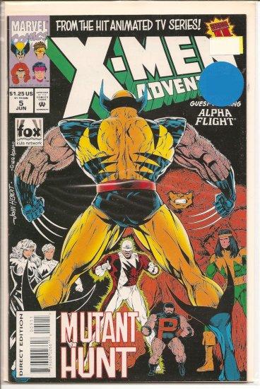 X-Men Adventures II # 5, 8.5 VF +