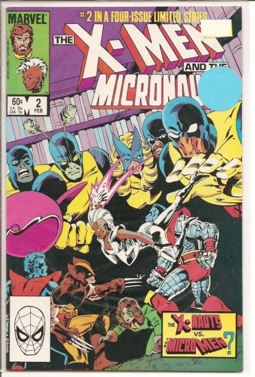 X-Men and The Micronauts # 2, 9.0 VF/NM
