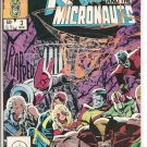 X-Men and The Micronauts # 3, 9.4 NM