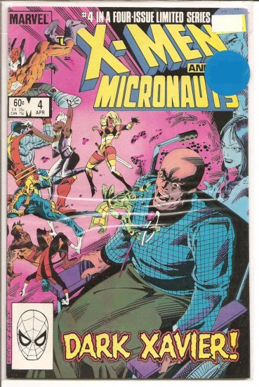 X-Men and The Micronauts # 4, 8.0 VF