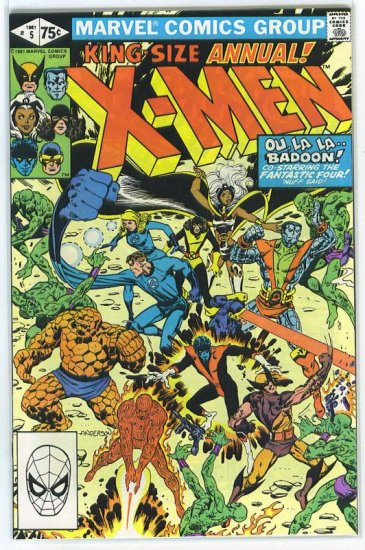 X-Men Annual # 5, 9.0 VF/NM