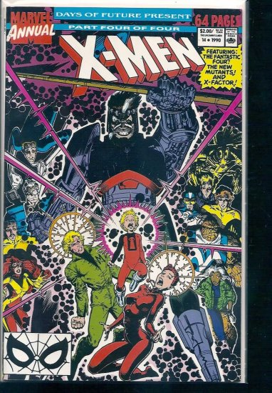 X-MEN ANNUAL # 14, 9.2 NM -