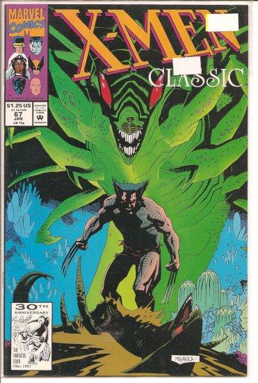 X-Men Classic # 67, 9.2 NM -