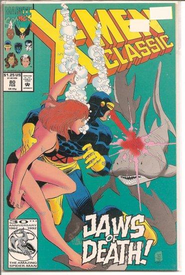 X-Men Classic # 80, 9.2 NM -