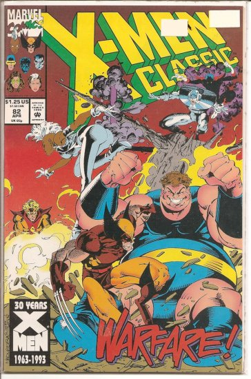 X-Men Classic # 82, 9.0 VF/NM