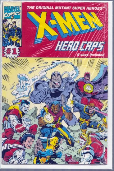 X-MEN HERO CAPS # 1, 9.4 NM