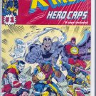 X-MEN HERO CAPS # 1, 9.4 NM