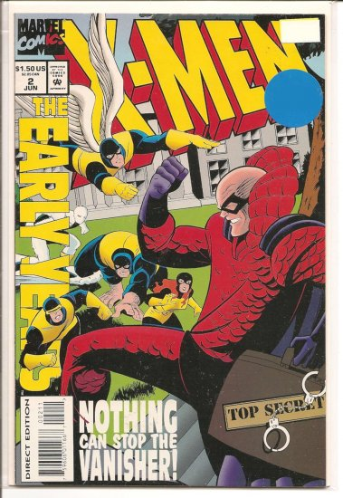 X-Men the Early Years # 2, 7.5 VF -