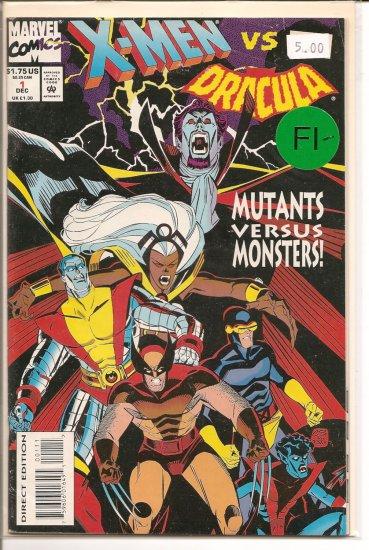X-Men vs. Dracula # 1, 5.5 FN -