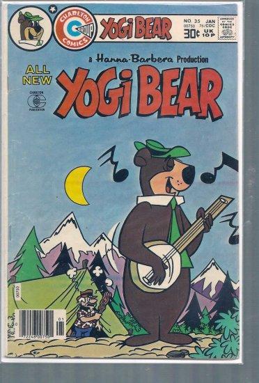 YOGI BEAR # 35, 4.5 VG +