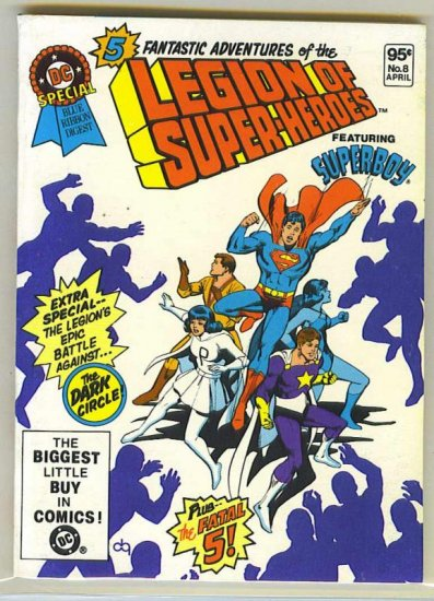 DC Special Blue Ribbon Digest # 8, 9.0 VF/NM