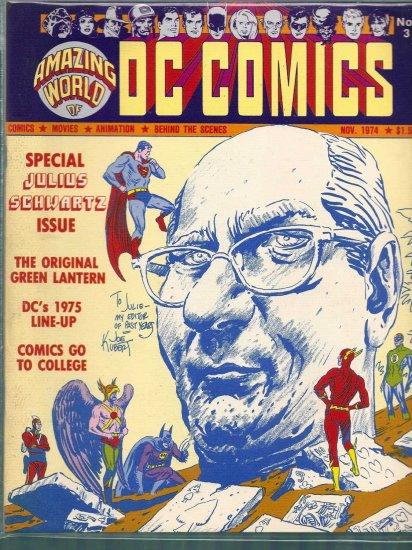 AMAZING WORLD OF COMICS VOLUME 1 # 3, 7.5 VF -