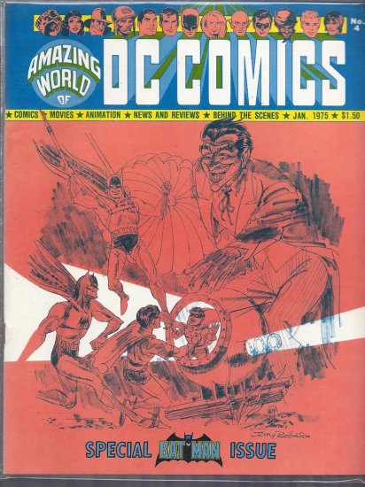 AMAZING WORLD OF COMICS VOLUME 2 # 4, 7.5 VF -