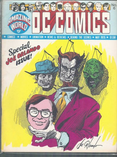 AMAZING WORLD OF COMICS VOLUME 2 # 6, 7.5 VF -
