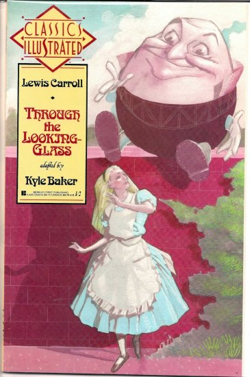 CLASSICS ILLUSTRATED THROUGH THE LOOKING GLASS # 1, 7.5 VF -