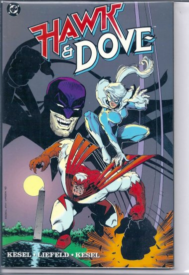 HAWK AND DOVE # 1, 7.5 VF -