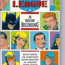 JUSTICE LEAGUE NEW BEGINNING # 1, 4.5 VG +