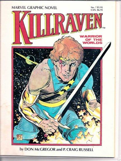 KILLRAVEN # 7, 7.0 FN/VF