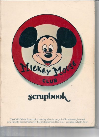 MICKEY MOUSE CLUB SCRAPBOOK # 1, 3.0 GD/VG