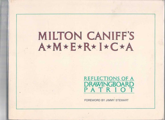 MILTON CANIFF'S AMERICA # 1, 5.0 VG/FN