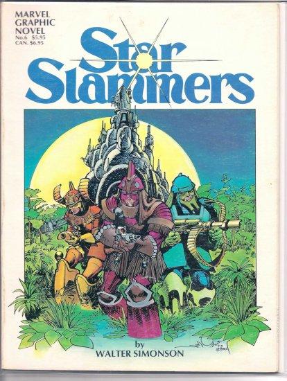 STAR SLAMMERS # 6, 8.0 VF