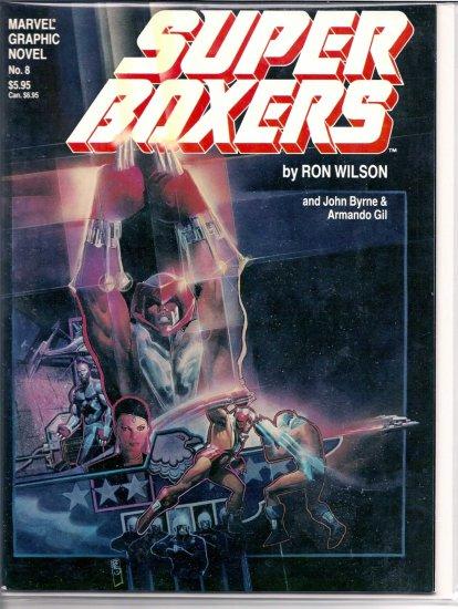 SUPER BOXERS # 8, 5.0 VG/FN