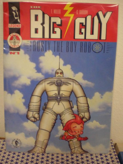 THE BIG GUY AND RUSTY THE BOY ROBOT # 1, 4.0 VG