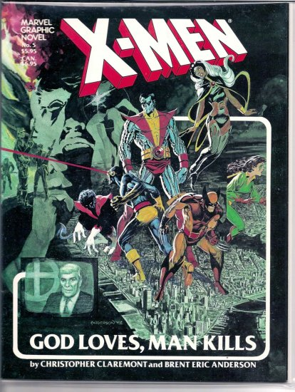 X-MEN # 5, 7.5 VF -