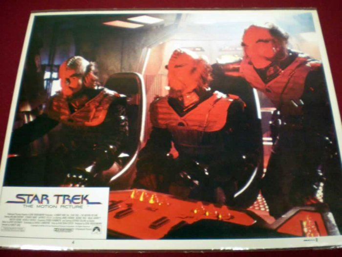 STAR TREK THE MOTION PICTURE # 4, 5.5 FN -