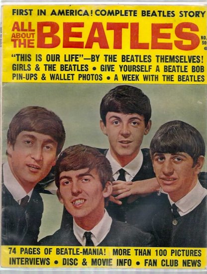 ALL ABOUT THE BEATLES # 1, 4.0 VG