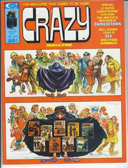 Crazy Magazine # 9, 7.0 FN/VF