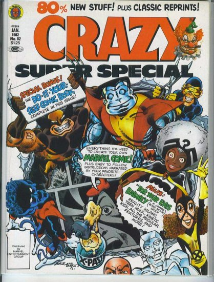 Crazy Magazine # 82, 9.2 NM -