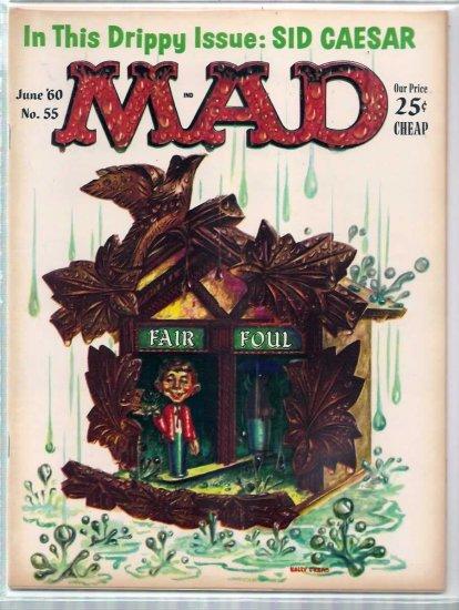 MAD # 55, 4.5 VG +