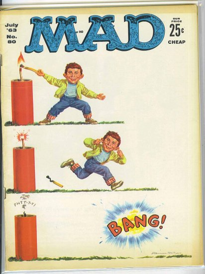 Mad # 80, 4.0 VG