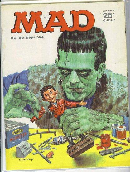 Mad # 89, 4.5 VG +