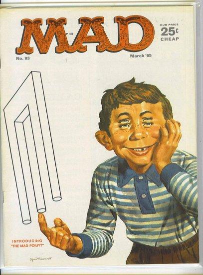 Mad # 93, 4.5 VG +