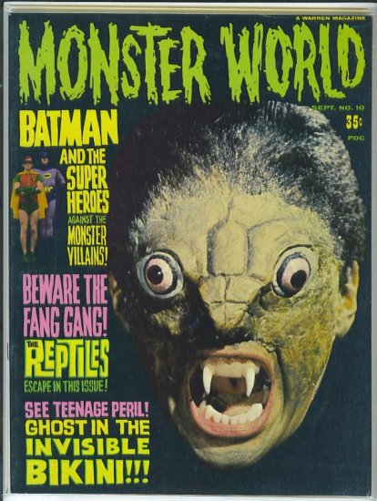 Monster World # 10, 8.0 VF