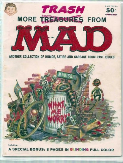MORE TRASH FROM MAD # 1, 3.5 VG -