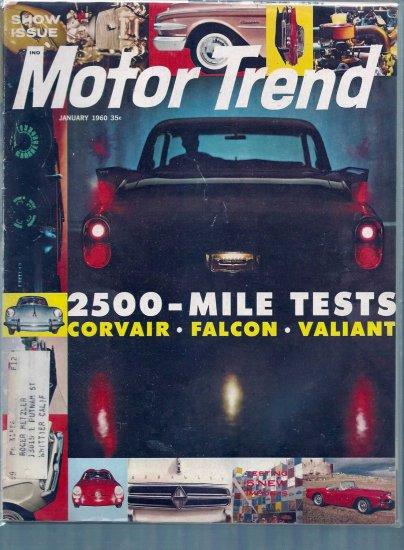 MOTOR TREND 1960 LOT # 1, 4.0 VG