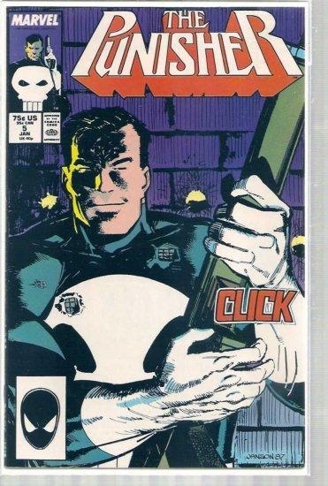 Punisher # 5, 9.0 VF/NM