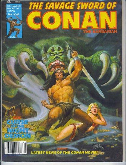 Savage Sword Of Conan # 48, 7.0 FN/VF