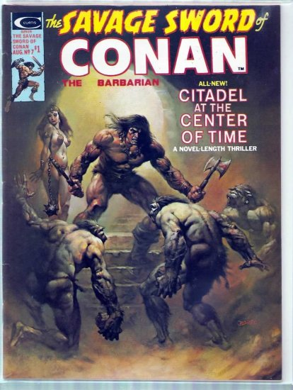 SAVAGE SWORD OF CONAN THE BARBARIAN # 7, 7.5 VF -