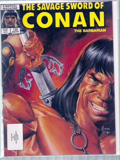 SAVAGE SWORD OF CONAN THE BARBARIAN # 130, 6.5 FN +