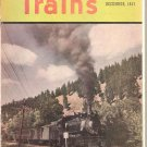 TRAINS MAGAZINE LOT OF 4 # 1, 4.0 VG