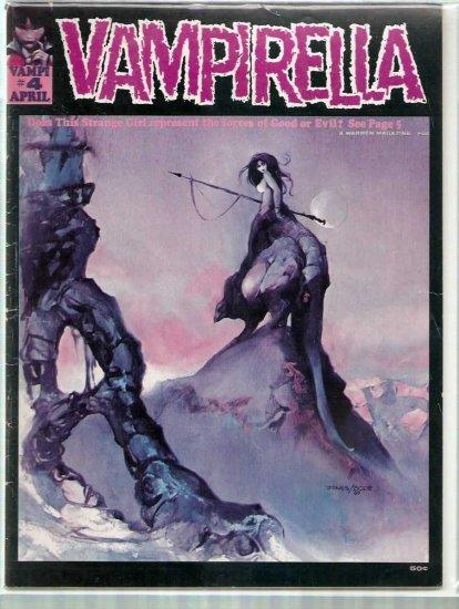 VAMPIRELLA # 4, 4.0 VG