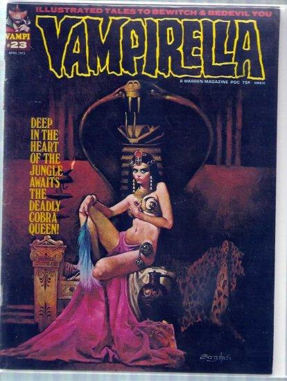 VAMPIRELLA # 23, 2.5 GD +