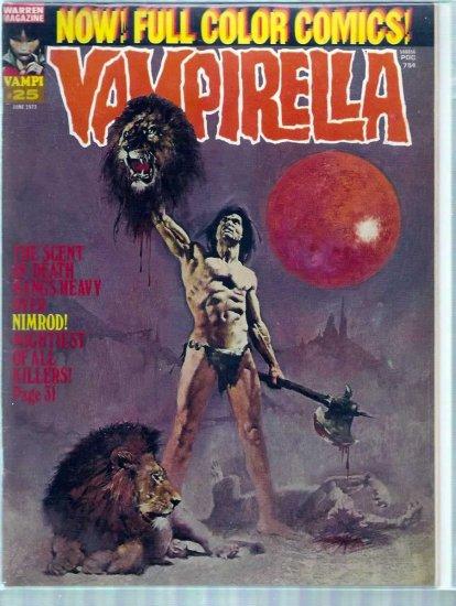 VAMPIRELLA # 25, 4.0 VG